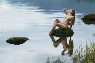 reflections artistic nude photo by photographer mick egan