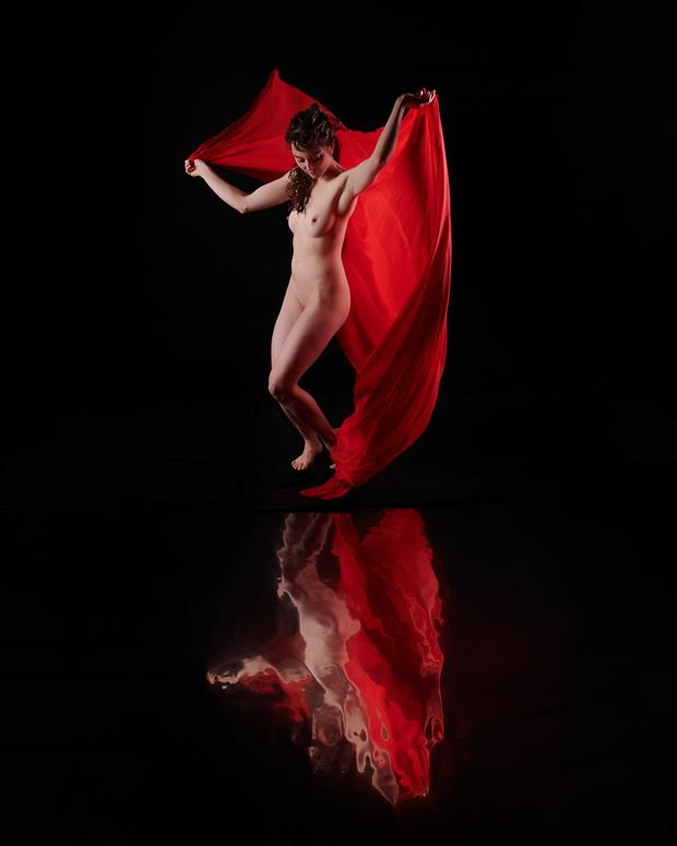 reflections of rose 2 artistic nude photo by photographer jefflamarche