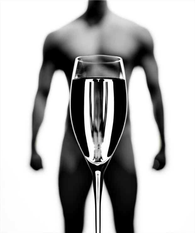refraction 3 artistic nude photo by photographer carl kerridge