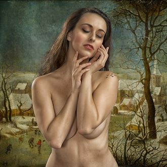 remembering winter time erotic photo by photographer tom gore