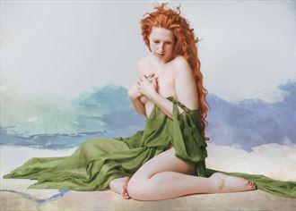 reminiscence implied nude artwork by photographer fischer fine art