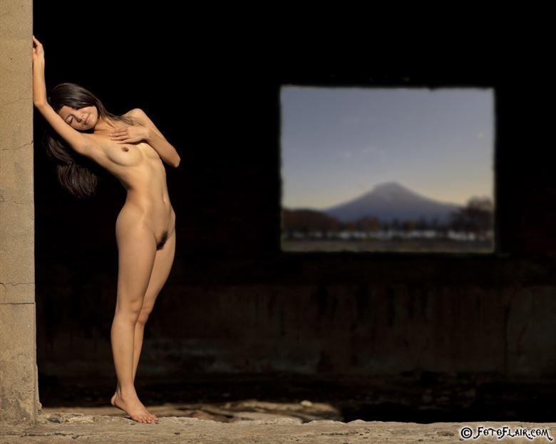 renee caressed by thr sun artistic nude photo by photographer fotoflair