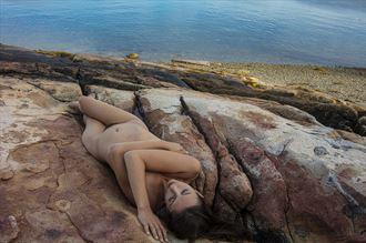repose artistic nude photo by photographer gf morgan
