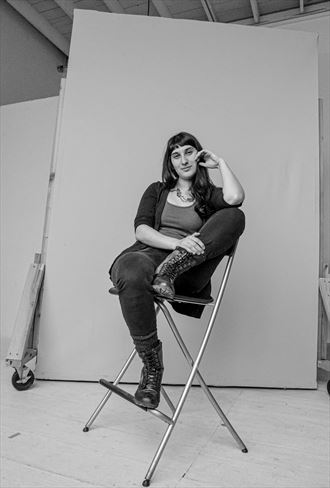resting in studio portrait photo by photographer markdanley