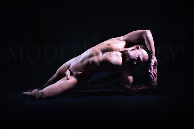 restructured artistic nude photo by model avid light