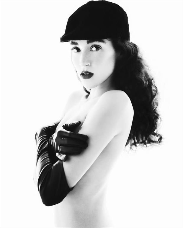 retro glamour photo by model natale rossi