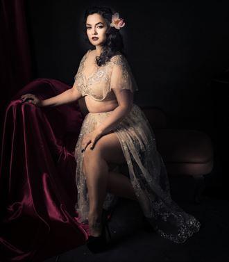 retro look lingerie photo by photographer scott nicoll