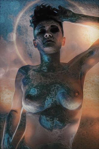 return to eden surreal artwork by artist todd f jerde