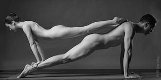 rhombus artistic nude photo by model ari groobman