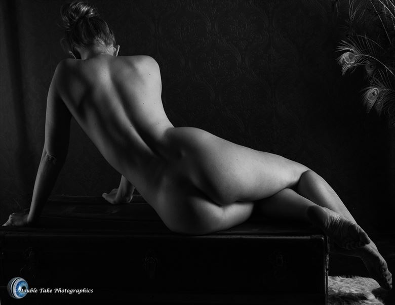 riley in shadow artistic nude photo by photographer willson photo