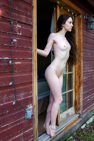 rise and shine artistic nude photo by model ahna green