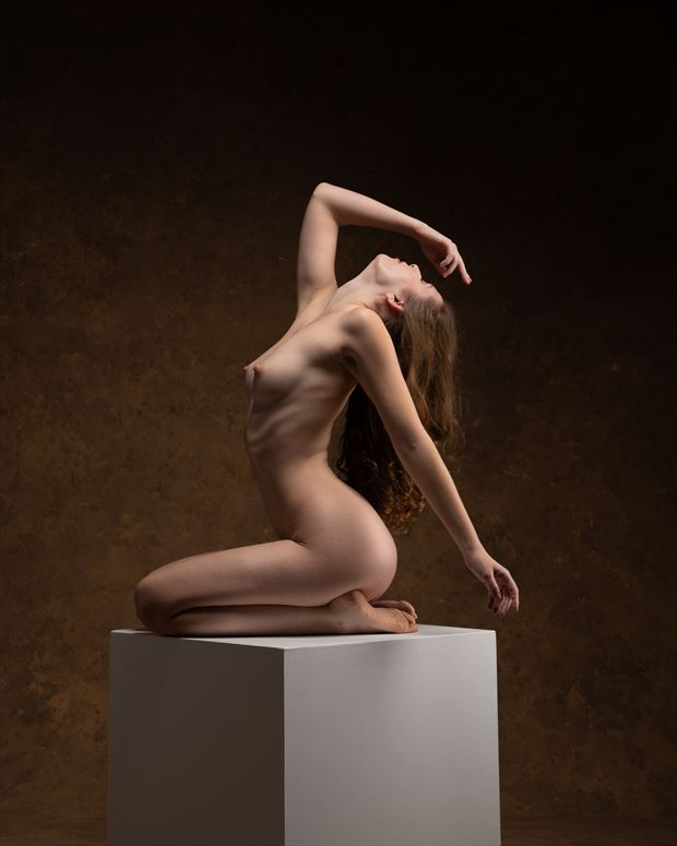 rising grace artistic nude photo by photographer john dunkelberg