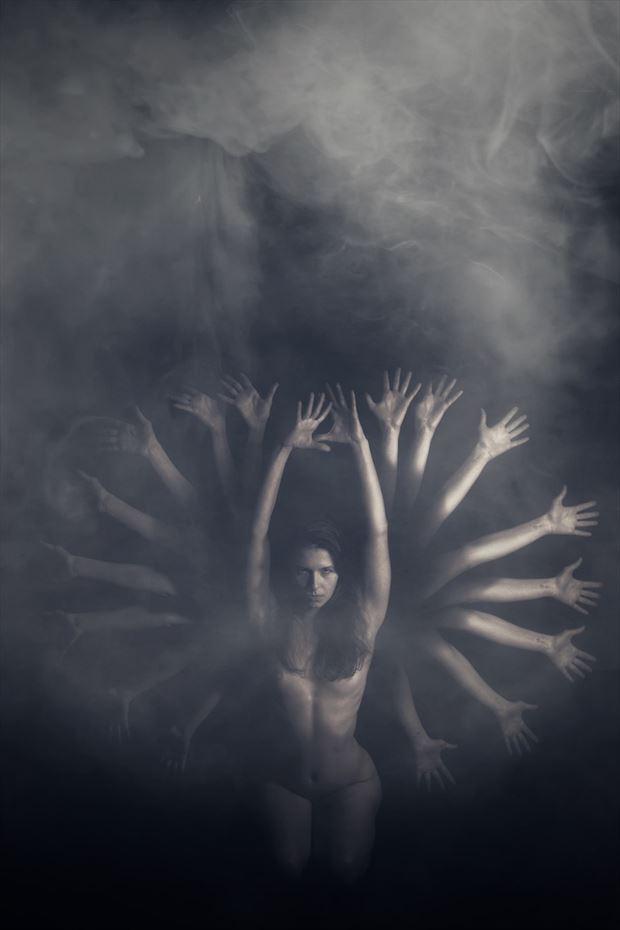 ritual artistic nude photo by model daniella sama