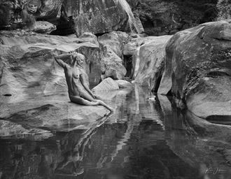river dreams artistic nude artwork by photographer lomobox
