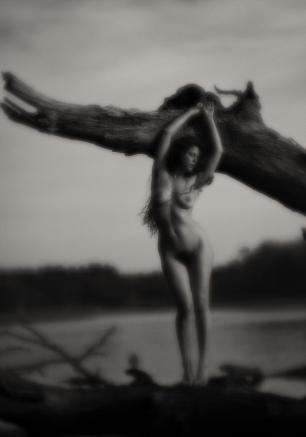river dreamscape artistic nude photo by photographer autumn bear photography