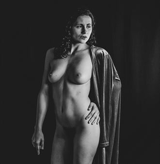 robed in thought figure study photo by photographer rahkmo_photography