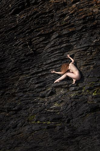 rock creature artistic nude photo by photographer niall