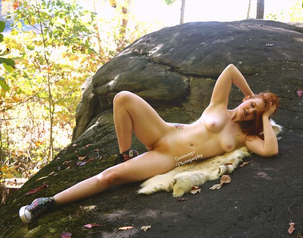 rock of ages artistic nude photo by photographer alan james