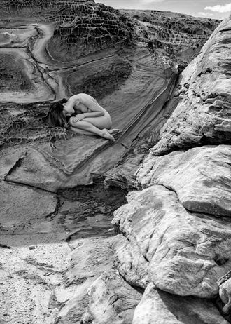 rocks and curves artistic nude photo by photographer stephen wong