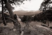 rocky mountain national park co artistic nude photo by photographer ray valentine