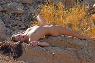 rocky repose artistic nude photo by photographer shootist
