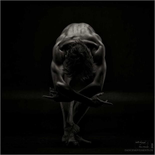 rodin figure study artwork by photographer dance movements by klaus wegele