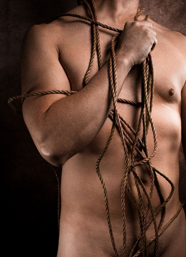 rope artistic nude photo by photographer ayvenaswulff