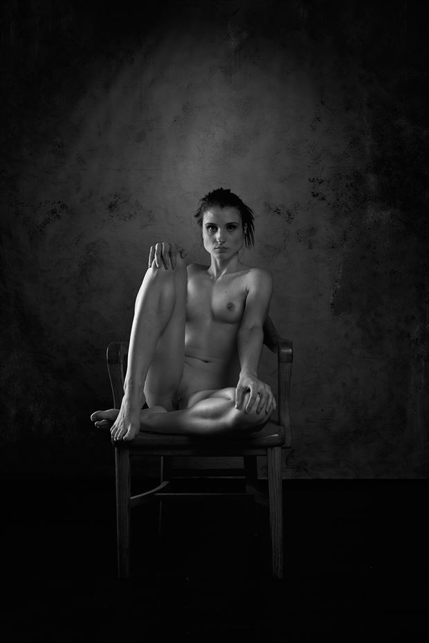 rose aim%C3%A9e_bnw artistic nude artwork by photographer dystopix photo