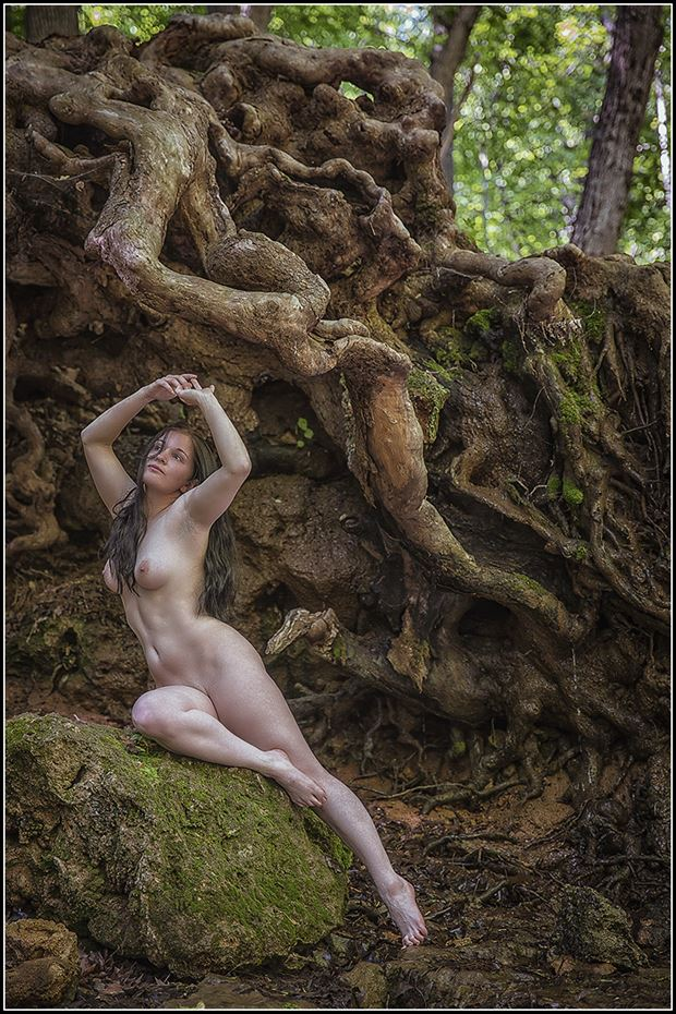 rose bed by the riverside artistic nude photo by photographer magicc imagery