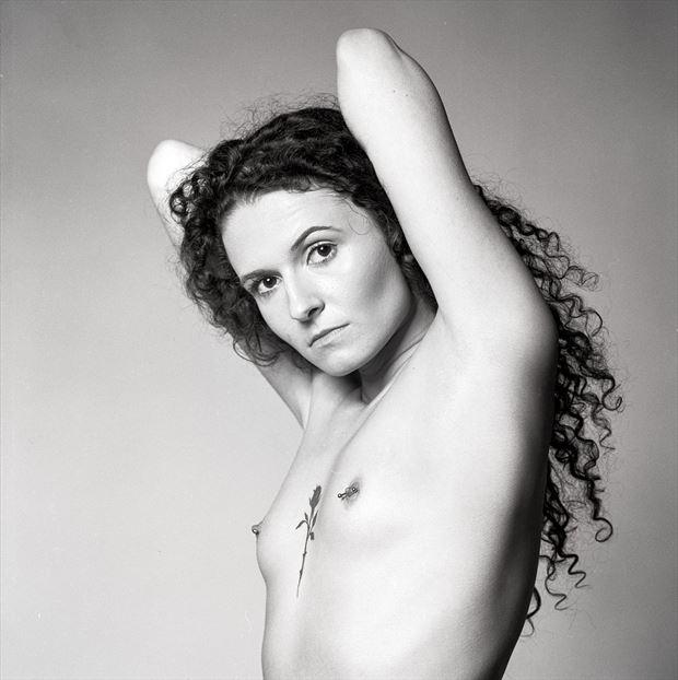 rose tattoo alternative model photo by photographer acqua e sapone