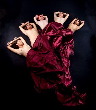 royal flush i artistic nude photo by photographer allan taylor