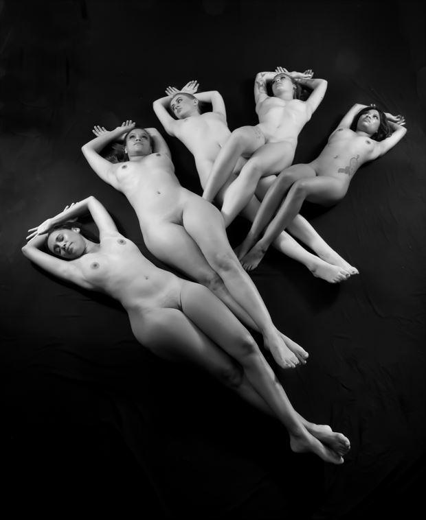 royal flush ii artistic nude photo by photographer allan taylor