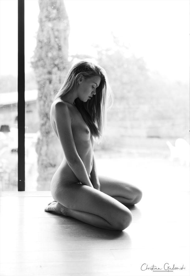 rubia artistic nude photo by photographer christian gadomski
