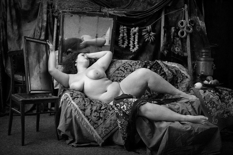 russian belle Artistic Nude Artwork by Photographer zanzib