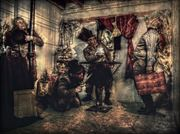 s%C3%A9ance vintage style artwork by photographer michael knoten