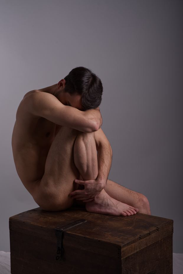 sadness artistic nude photo by model coma12