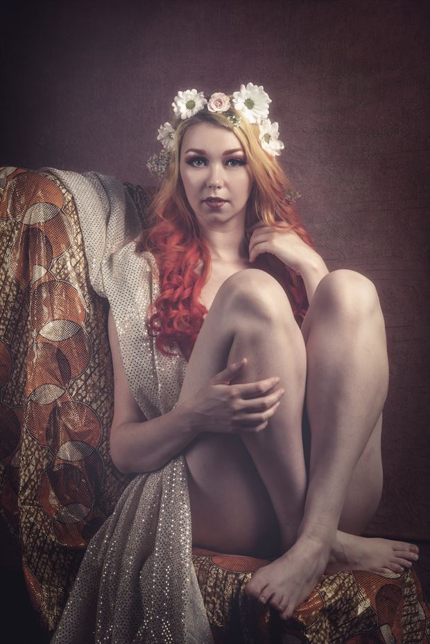 sage flower girl no 5 artistic nude photo by photographer yugen photog