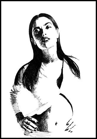 salma stark glamour artwork by artist subhankar biswas