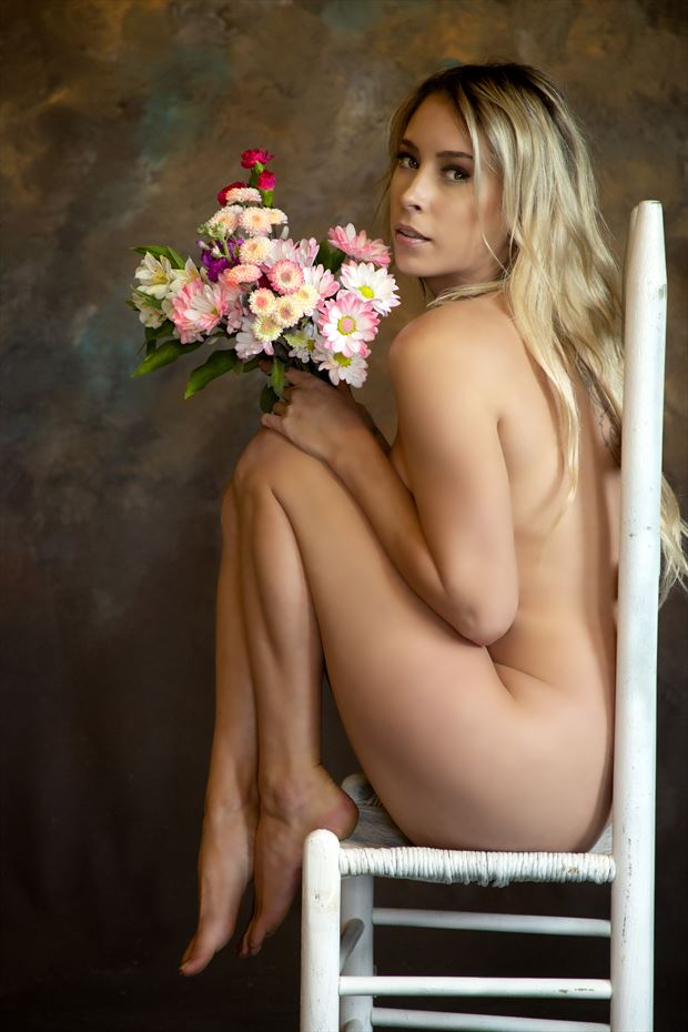 sam artistic nude photo by photographer red rayven