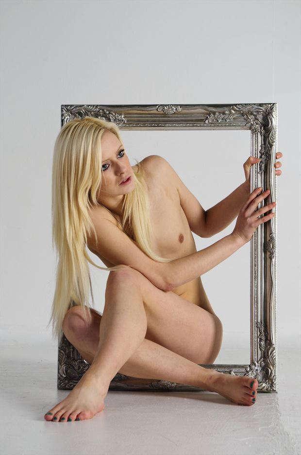 sam framed artistic nude photo by photographer russb