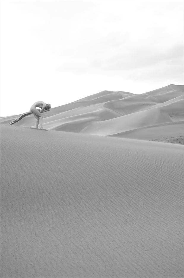 san dunes dreams no 3 artistic nude artwork by photographer pitaru