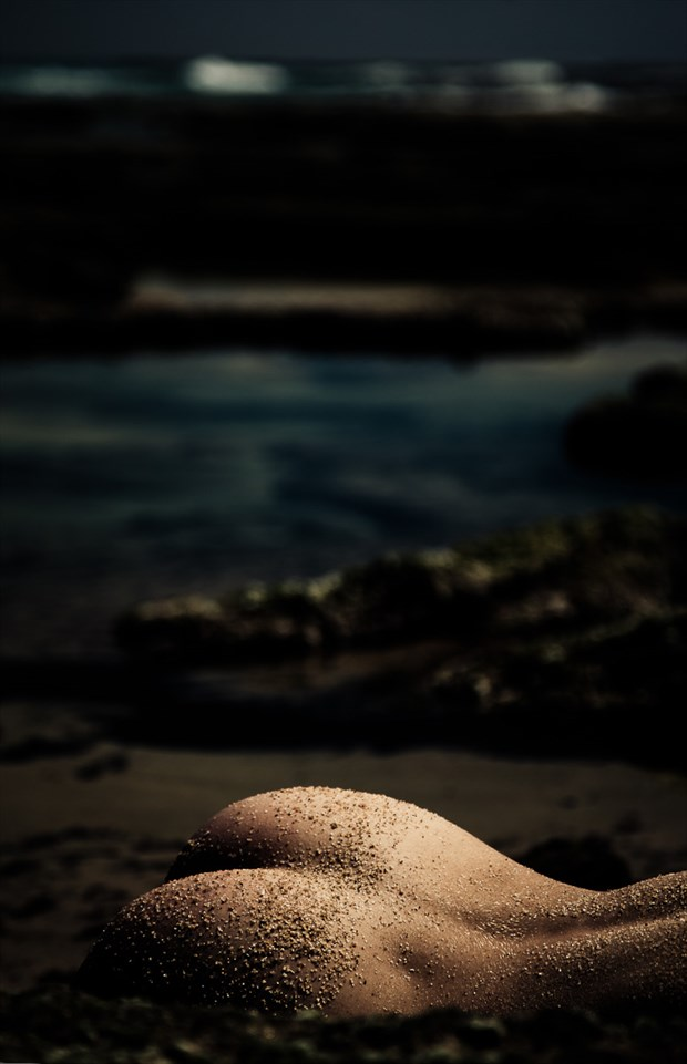 sand and surf Artistic Nude Photo by Photographer Sensual Artz