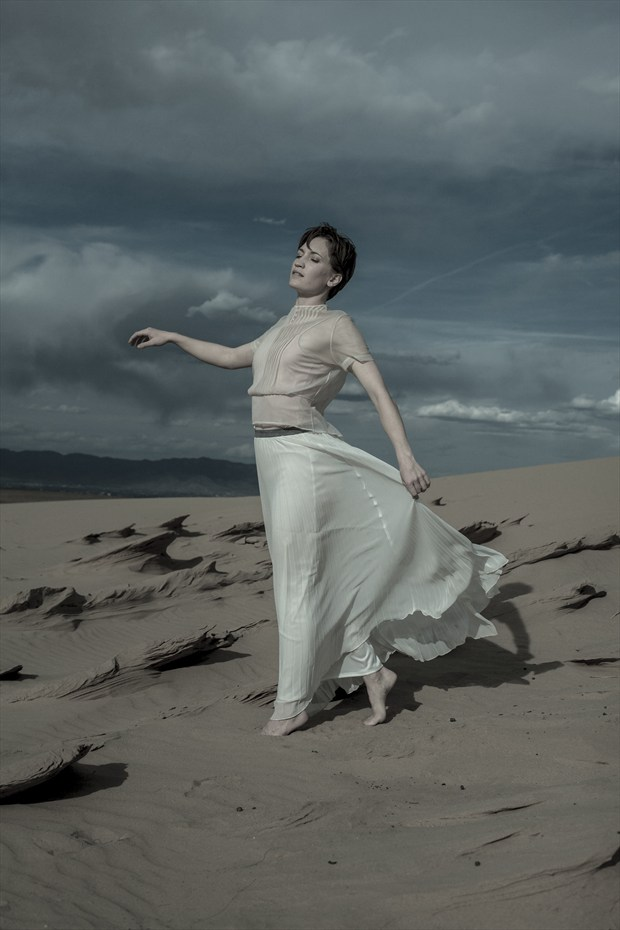 sand dunes II Nature Photo by Model Stephanie Anne
