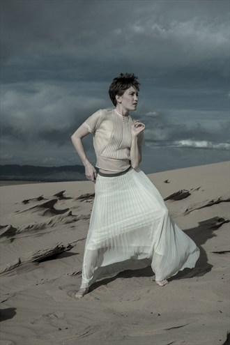 sand dunes Nature Photo by Model Stephanie Anne