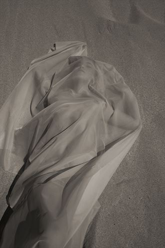 sand fabric makaha artistic nude artwork by photographer arbeit photo hawaii