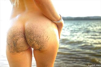 sandy butt artistic nude photo by photographer barry gallegos