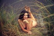 sandy feet artistic nude photo by artist annedelion