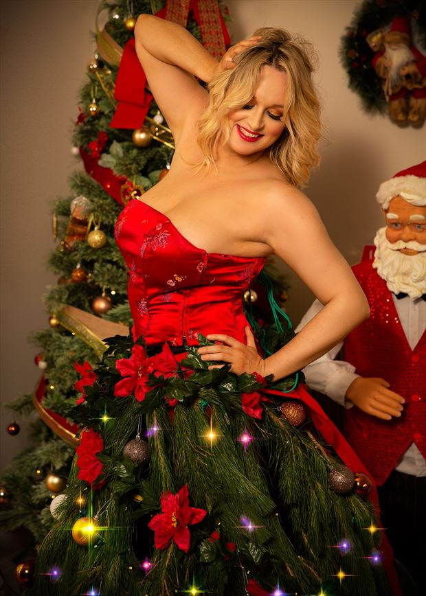 santa approved outfit fashion photo by model kelly_kooper