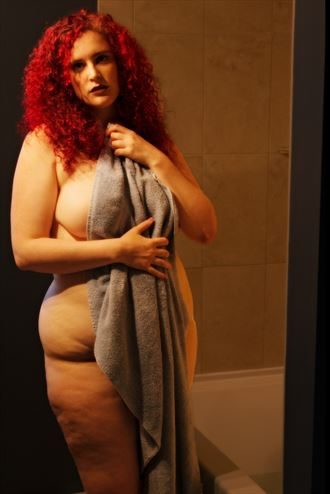 sarah after bath implied nude photo by photographer jyves
