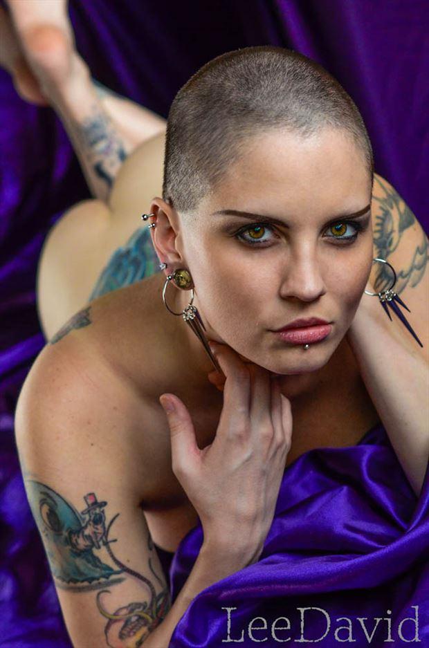 sarena artistic nude photo by photographer lee david